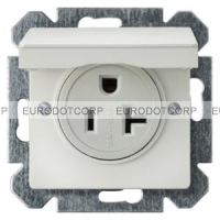 Socket Outlet, NEMA, with Hinged Lid